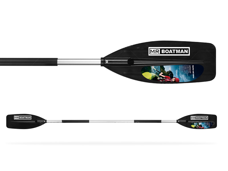 Adult two blade kayak paddle