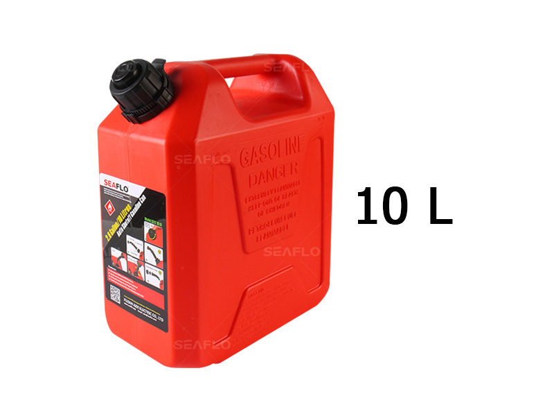 SEAFLO 10L Auto Shut Off Gasoline Cans