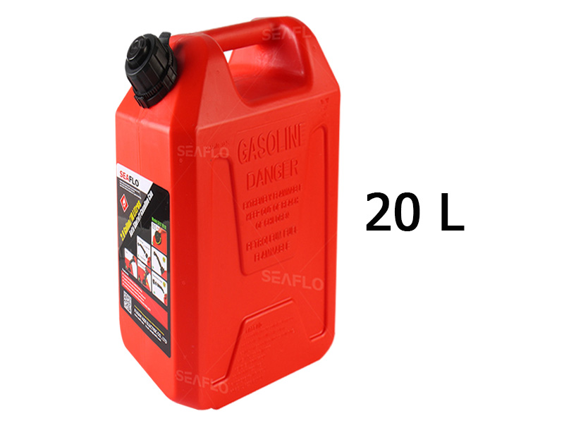 SEAFLO 20L Auto Shut Off Gasoline Cans